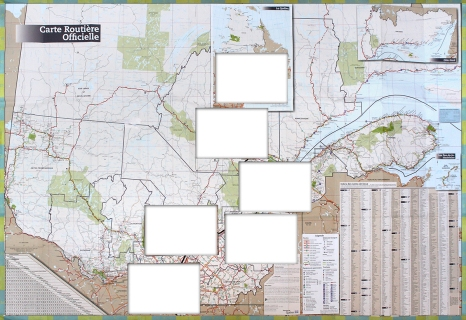 ORAN - La traversée - Carte du Québec - 2017