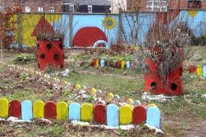 ORAN – CLEA Résidence Mission Communauté de Communes Sud-Avesnois - 2018 – Jardin de l'École élémentaire Victor Hugo - Fourmies