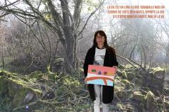 ORAN – CLEA Résidence Mission Communauté de Communes Sud-Avesnois - 2018 – Paysages intérieurs et extérieurs - CSC de Fourmies - Photomontage Lefevre Danielle