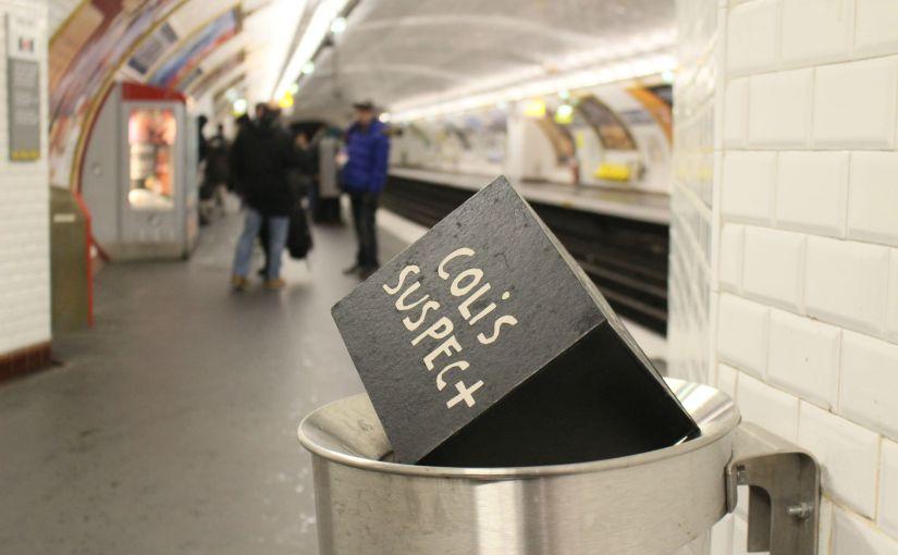 duo oran - colis suspect - metro parisien - 2017